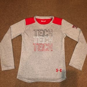 Boys Under Armour Texas Tech T-shirt